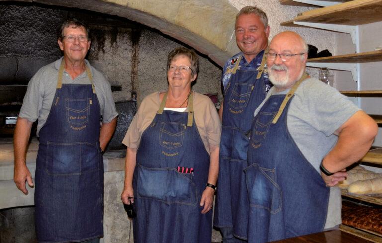 30 ans du four à pain – Des bénévoles qui entretiennent la flamme!