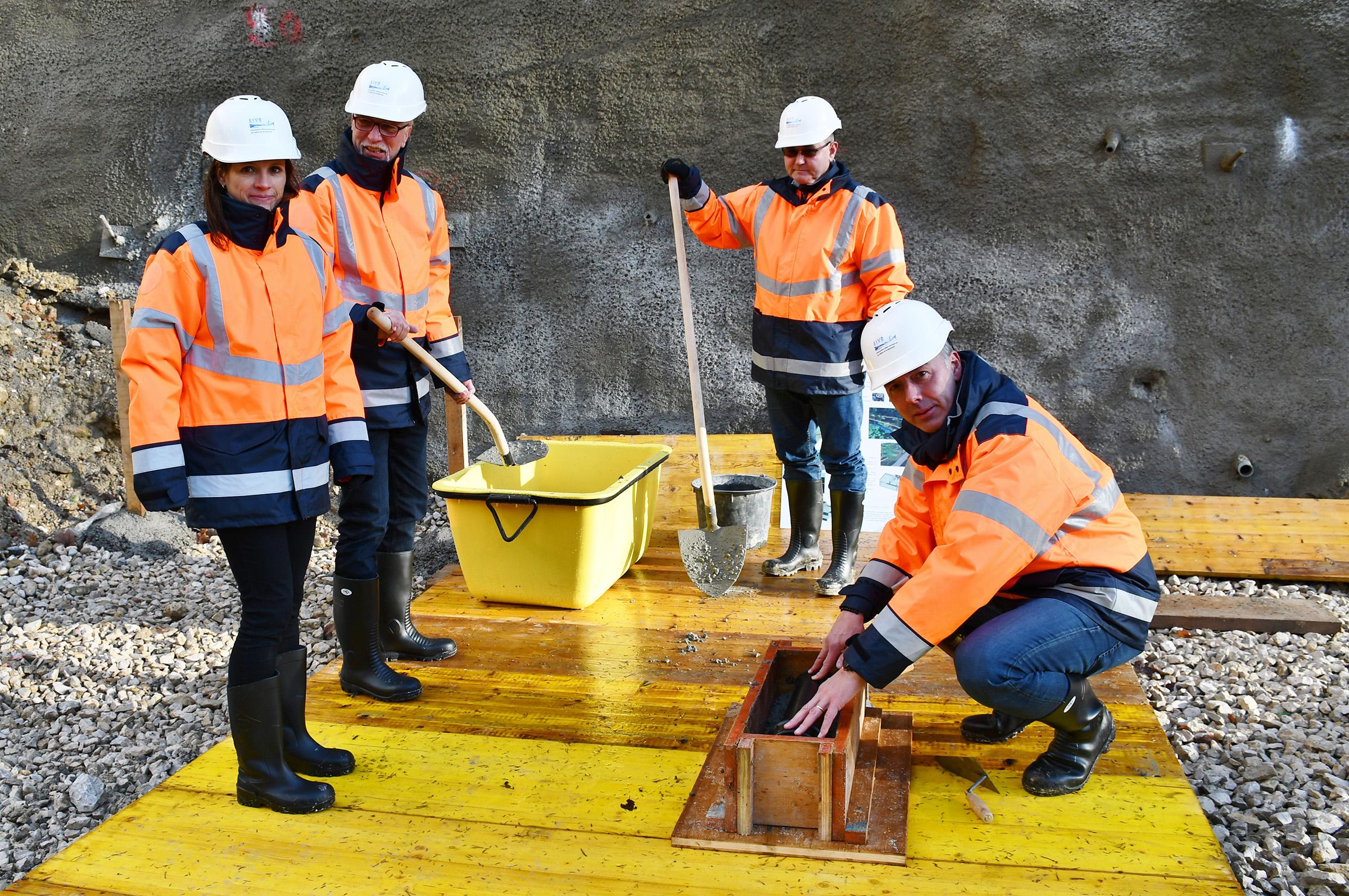 Première pierre : Le réservoir d'eau de la Montagne existe officiellement
