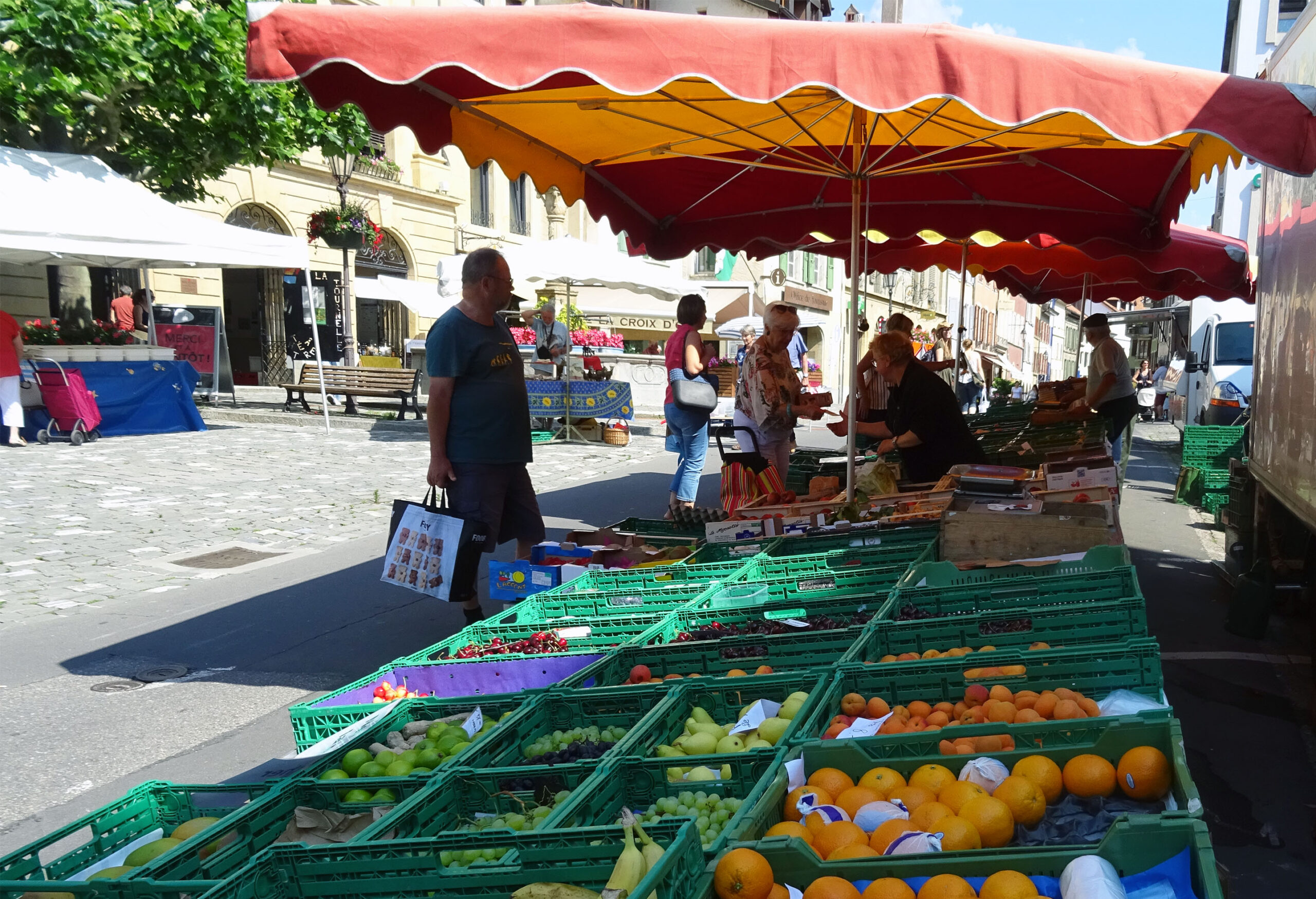 Une journée avec… notre Maraîcher du marché