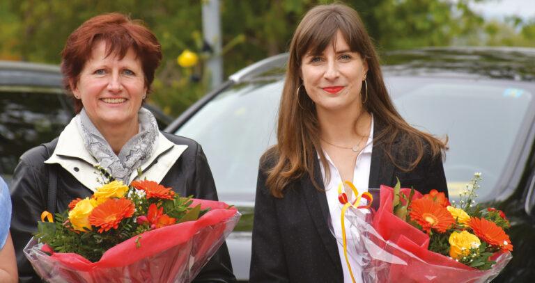 L'Abbaye honorée : Rebecca Ruiz pour une première présence officielle