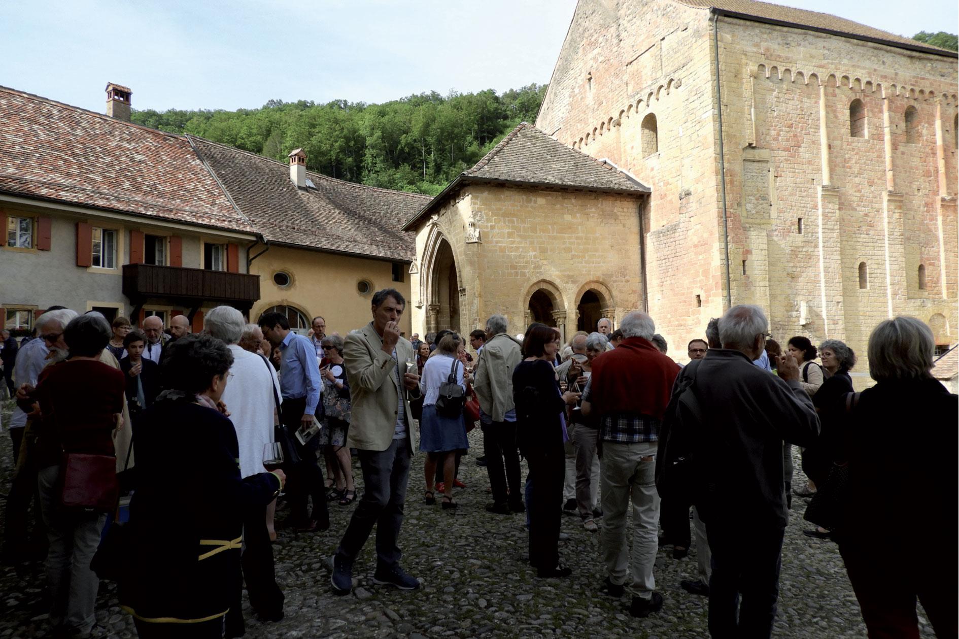 50 ans de la  Fondation de Romainmôtier (visite et avenir)