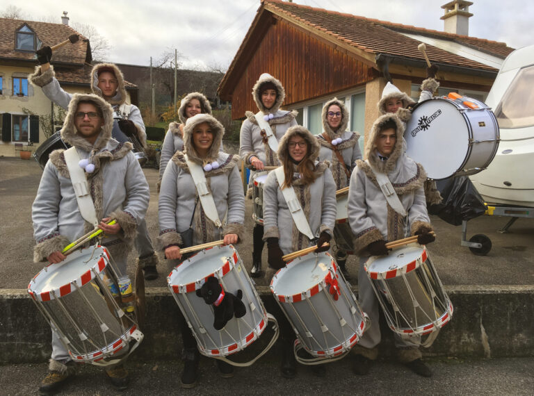 Tradition de fin d'année : Célébration au son des tambours