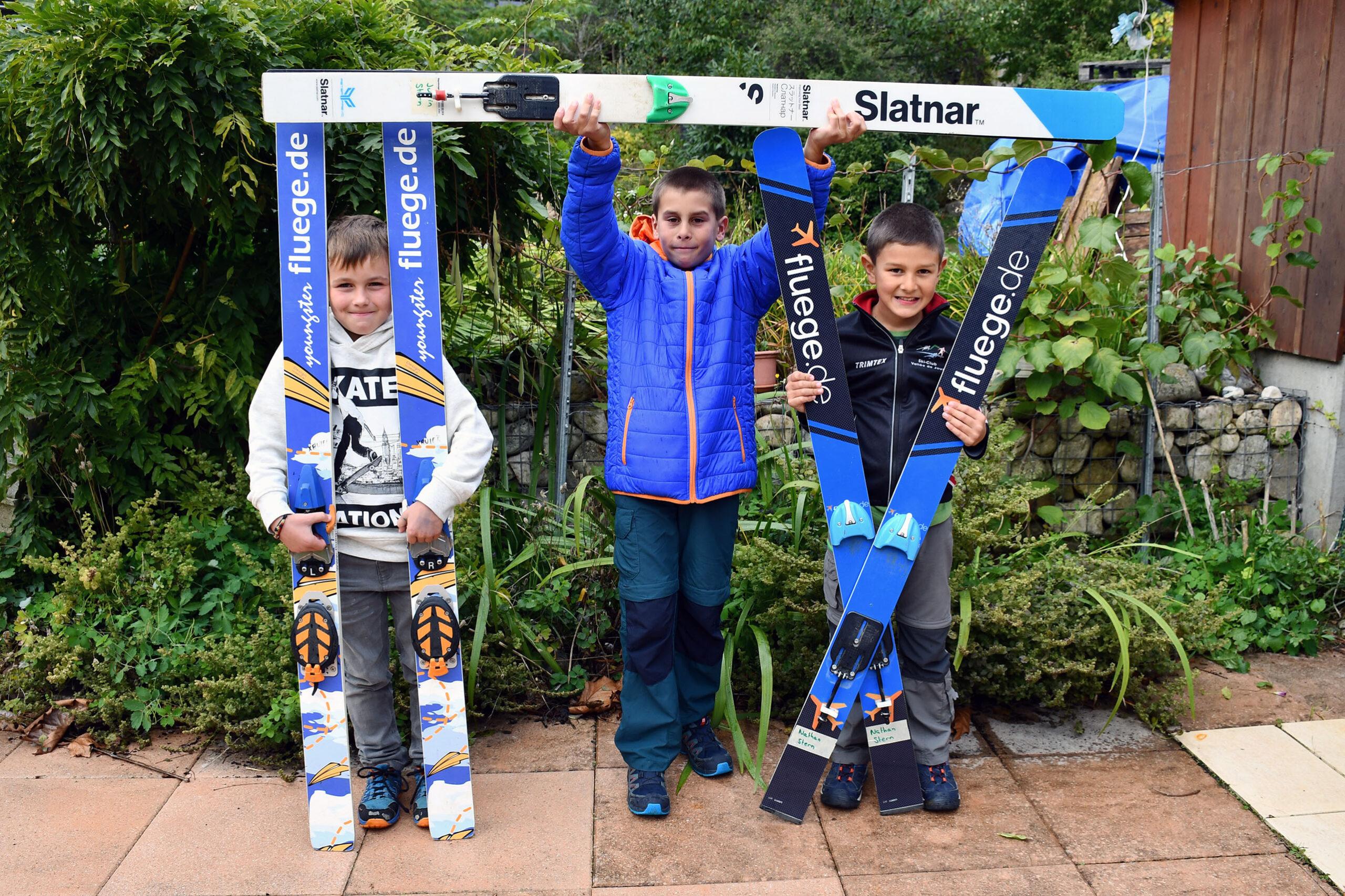 Saut à ski : Trois jeunes futurs champions ?