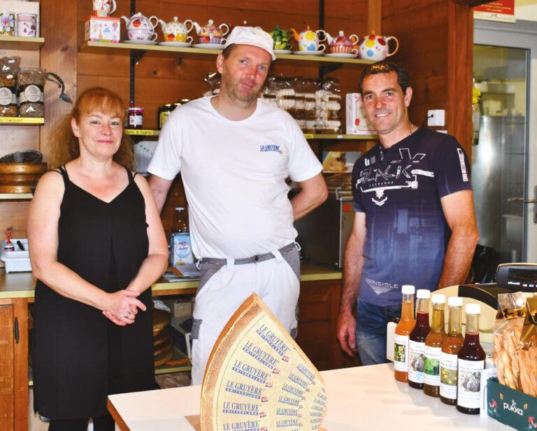 La fromagerie s'est agrandie : Projet imaginé en 2012 déjà