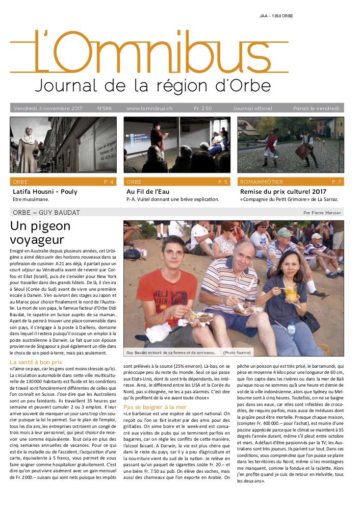 L'Omnibus édition n°588-editions