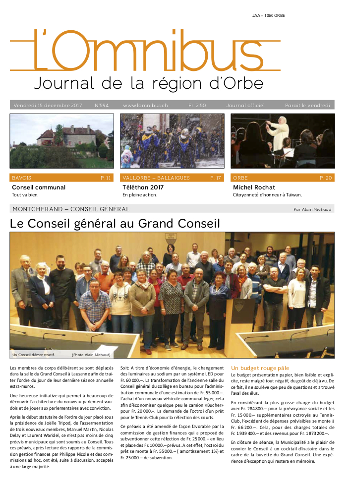 L'Omnibus édition n°594