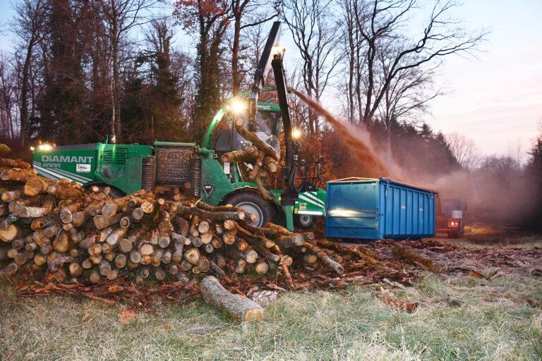Plaquettes de bois : Du bois local pour les installations locales de chauffage