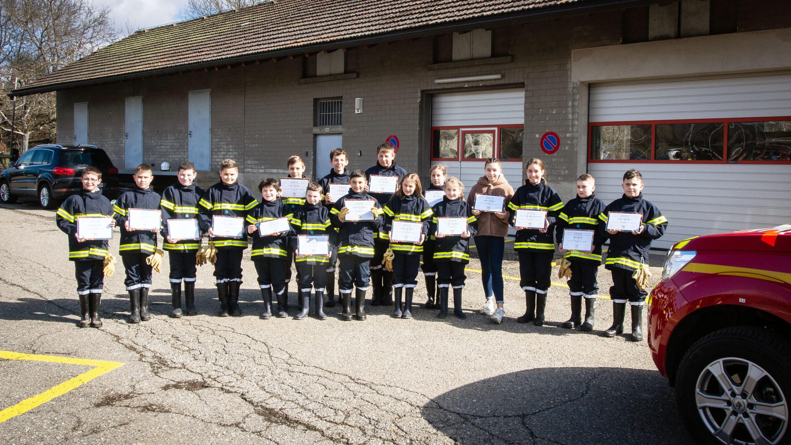 Les jeunes sapeurs-pompiers : La relève est assurée !