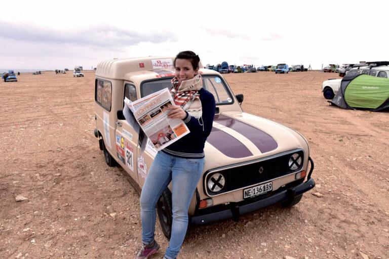 La Renault 4L a relié Marrakech